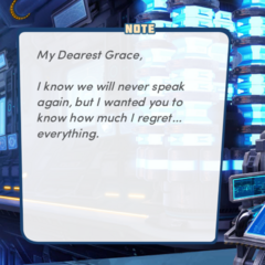 Aleister's note to Grace pt.1