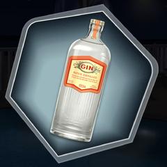 Bottle of Gin as seen in Ch. 12