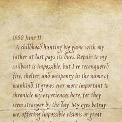 Diary Entry #2