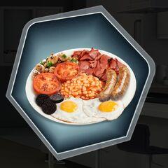 Irish Breakfast with Drisheen (blood sausage)