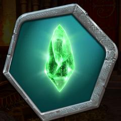 Threep's Green Crystal