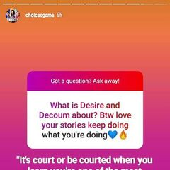 Part II of the Q&A for Desire & Decorum