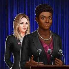 Alternate version of Female President behind Female President