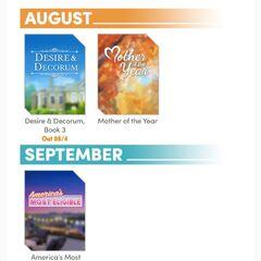 August 2019 - Release Schedule