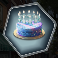 Galaxy Cake Premium Option as seen in Ch. 13