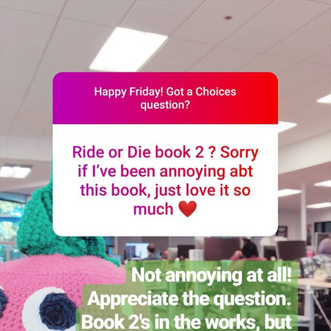 August Q&A about RoD, Bk2