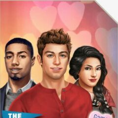 Kaitlyn on the cover  The Freshman: Game of Love