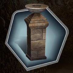 Sepulchral Lamp in Ch. 8