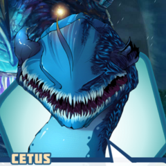 Cetus' appearance in Book 2 if it was attacked in Book 1