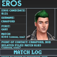 Gary's Eros Profile