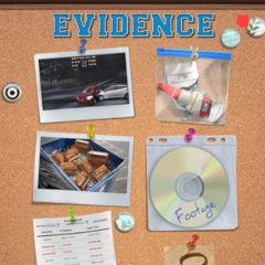 Evidence Board as of Ch. 8