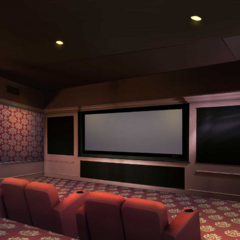 Theatre Room inside Priya's House