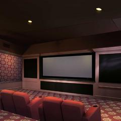 Theatre Room inside Priya's House
