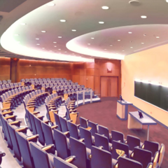 Lecture hall <small>(determinant)</small>