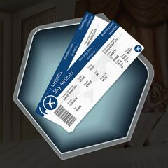 Possible Clue: Plane tickets for Simon/Ava's parents