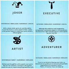 Personalities Pt.2