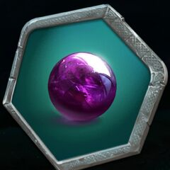 Message Orb given to her by Tevan