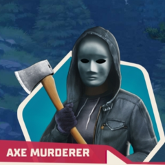 As the axe murderer