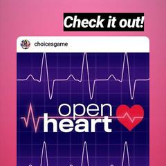 IG Announcement of Open Heart