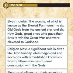 Elf Religion