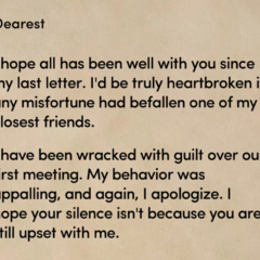 Kane's Unsealed Letter to MC in Ch. 3 <i>Part I</i>