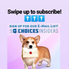 Choices Insiders IG Announcement 04/03/19