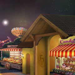 Enchantland snack kiosk