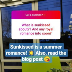 Sunkissed Silly Question #1