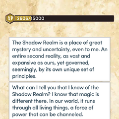 The Shadow Realm (Part 1)
