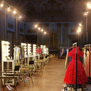 Hazel Boutique backstage (Milan)