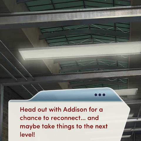 Confirmation of Addison becoming a LI