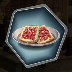 Henry's newest dessert hardtack