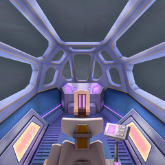 Inside Pilot's ship