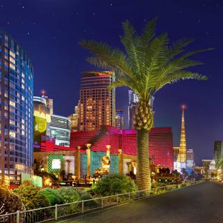 Vegas strip (Night)