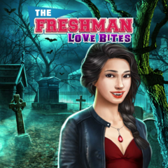 Kaitlyn on the cover of The Freshman: Love Bites
