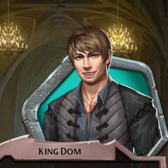 Being referred to as King Dom if he marries Kenna