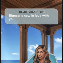 Bianca's a LI confirmation from the App