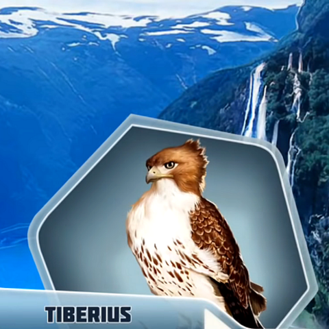 As Tiberius in TRR