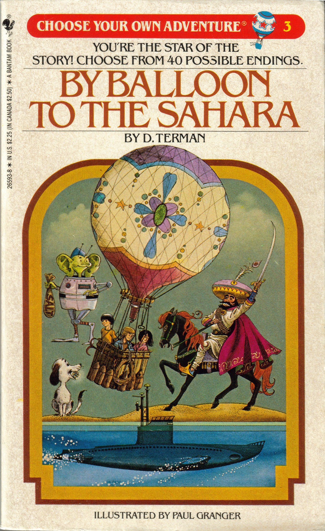 By Balloon To The Sahara Choose Your Own Adventure Wiki Fandom Powered By Wikia