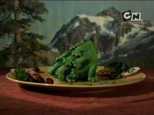 Mięsiwo tuzino nogiej żaby jaskiniowej