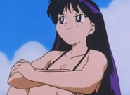 Sailor Mars in Beach Blanket Bungle