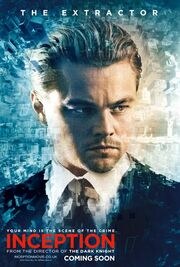 Inception-Character-Poster and picture cobb the extractor