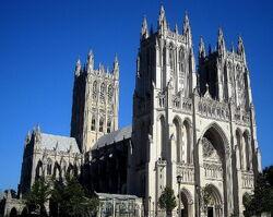 Washington National Cathedral in Washington, D.C.