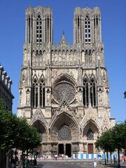 Notre Dame Cathedral -Reims-