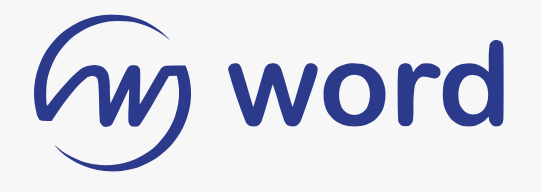 Word bookstore logo