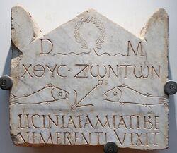 Stele Licinia Amias Terme 67646