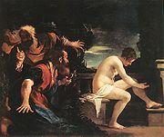 Guercino Susanna vecchioni