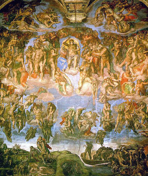 Michelangelo - Fresco of the Last Judgement