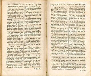 Challoner Douai Bible (1749)