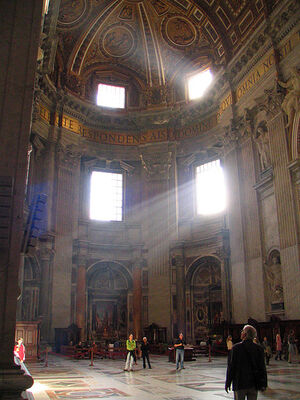 Saint Peter's Basilica, Vatican, Rome.